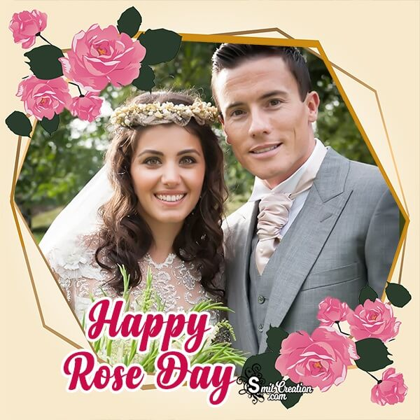 Rose Day Classic Photo Frame