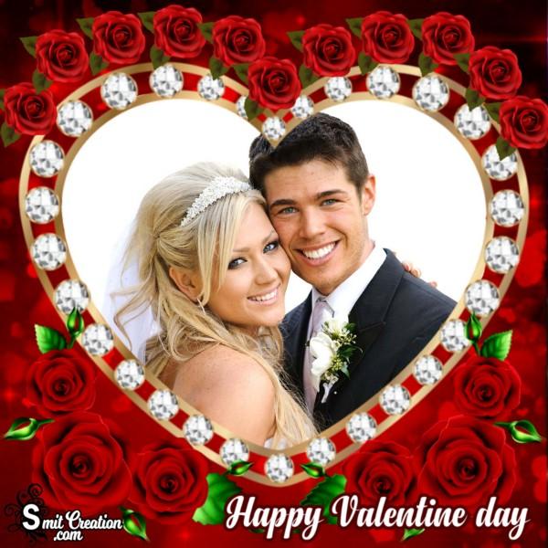 Valentine Day Roses Frame