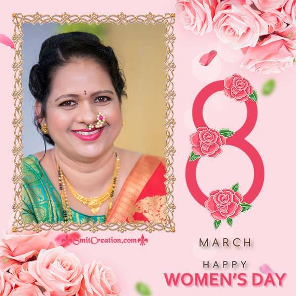 8th March Womens Day Frame