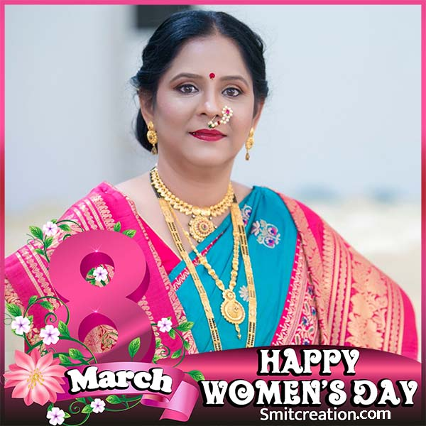 Happy Womens Day Photo Frame