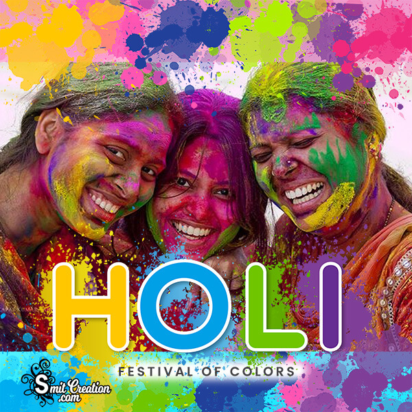 Holi Festival Of Colours Frame