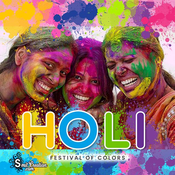 Holi Festival Of Colours Frame
