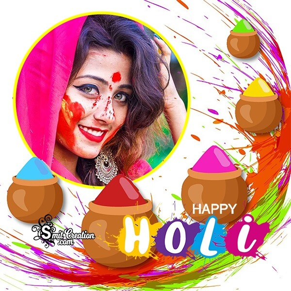 Holi Rang Panchami Photo Frame
