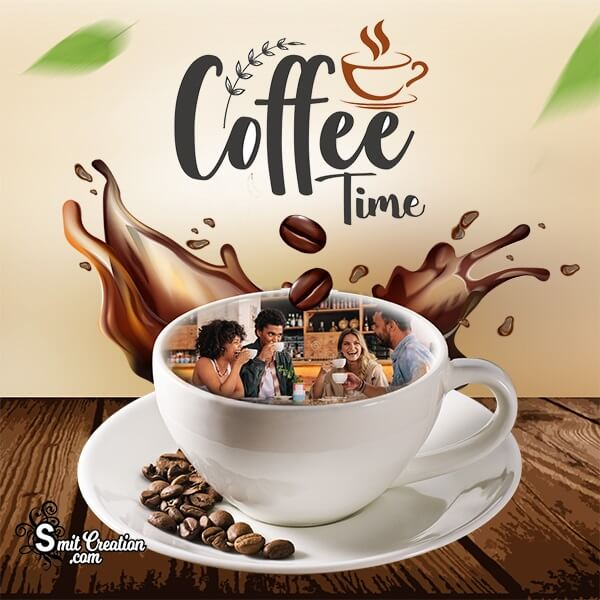 Coffee Time Photo Frame