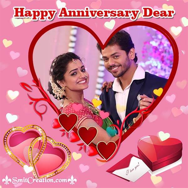 Happy Anniversary Dear Photo Frame