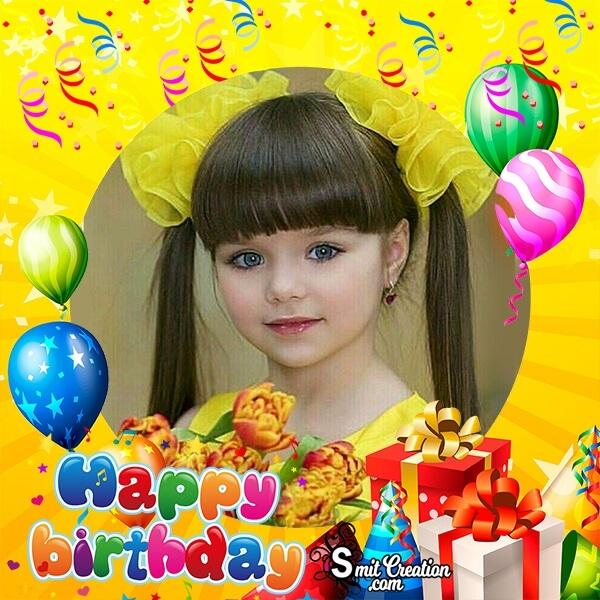 Happy Birthday Decorative Photo Frame