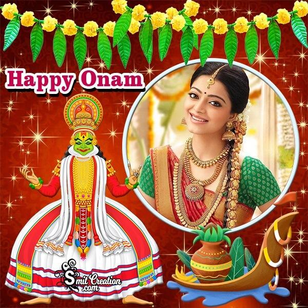 Happy Onam Decorative Photo Frame