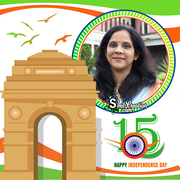 India Gate Independence Frame