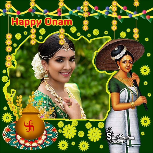 Onam Festival Photo Frame