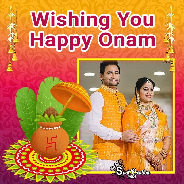 Wishing You Happy Onam Photo Frame