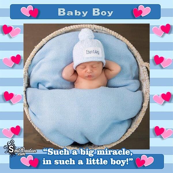 Blue Baby Boy Photo Frame