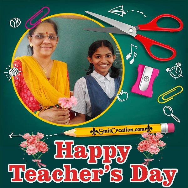 Happy Teachers Day Photo Frame