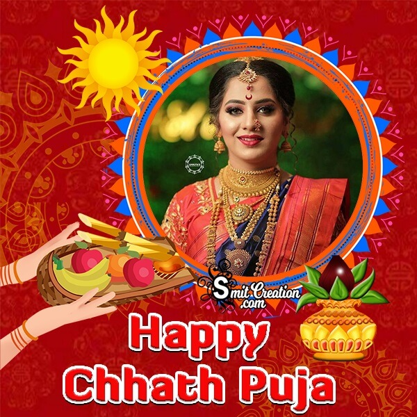 Chhath Puja Photo Frame