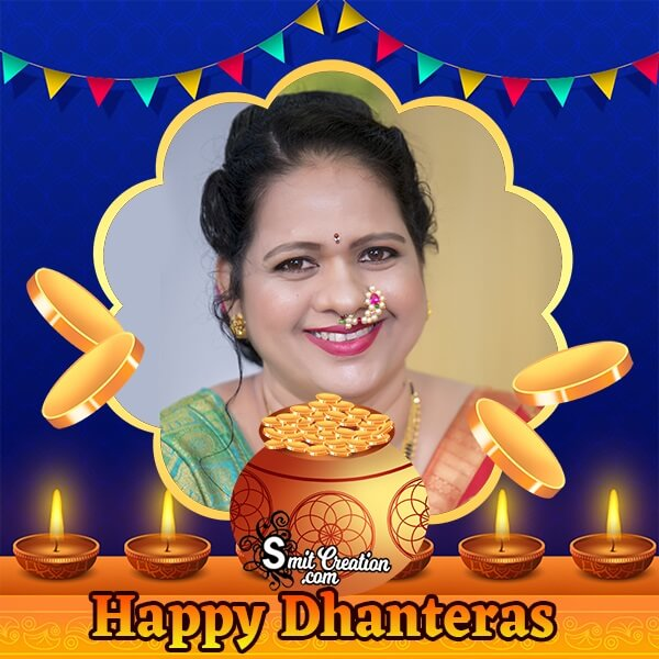 Dhanteras Festival Photo Frame