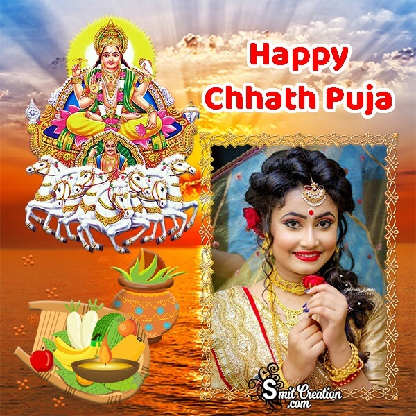 Happy Chhath Puja Photo Frame