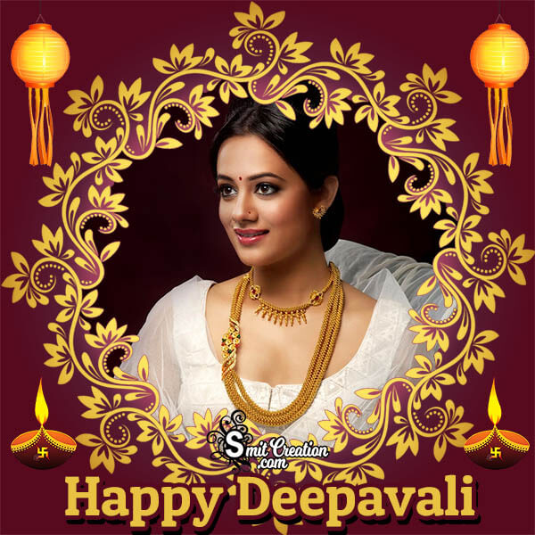 Happy Deepavali Photo Frame