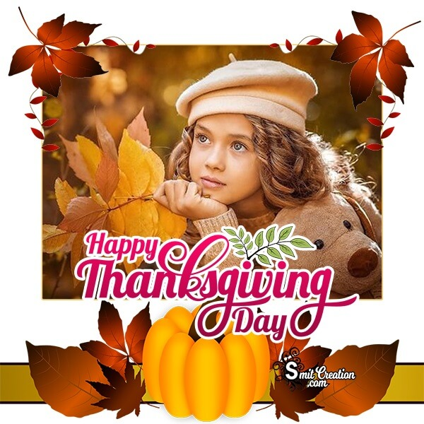 Happy Thanksgiving Day Photo Frame