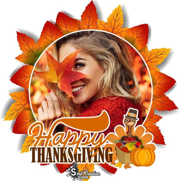 Happy Thanksgiving Photo Frame