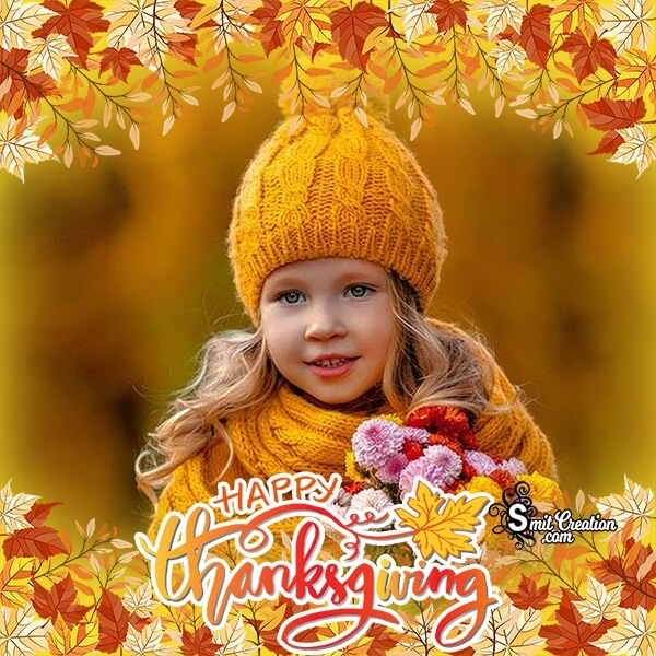 Thanksgiving Day Photo Frame