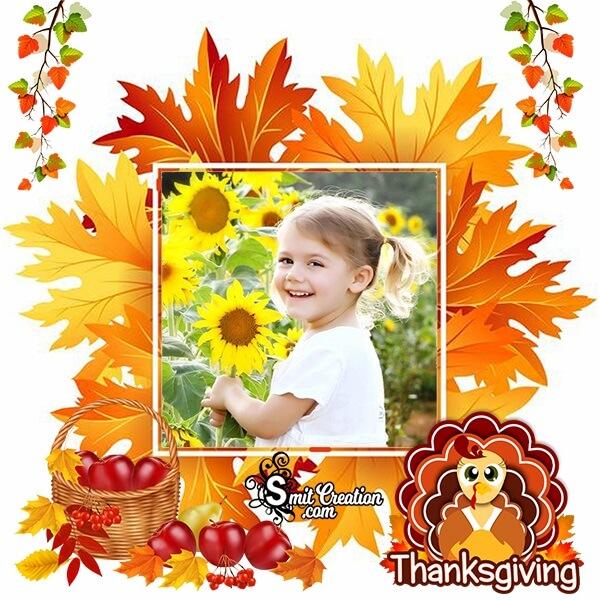 Thanksgiving Turkey Photo Frame