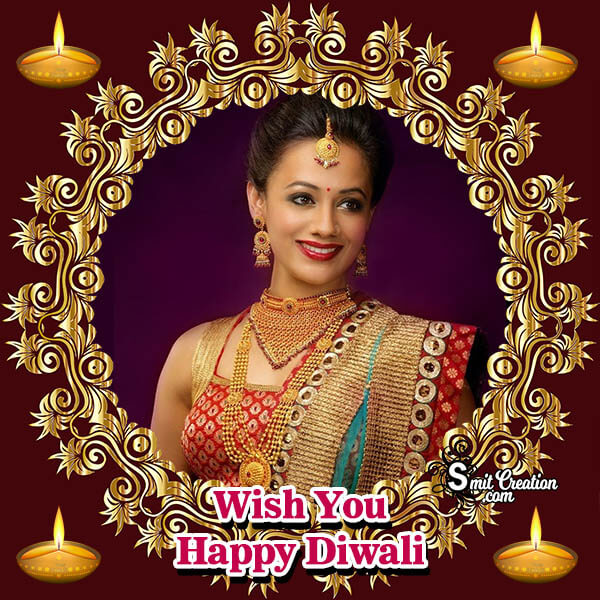 Wish You Happy Diwali Photo Frame