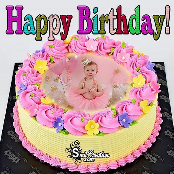 Best Birthday Cake Photo Frame