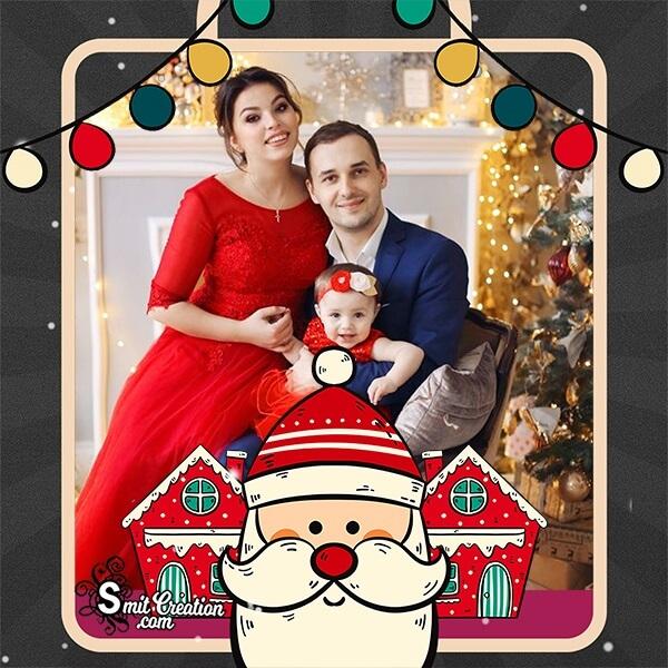 Christmas Santa Photo Frame