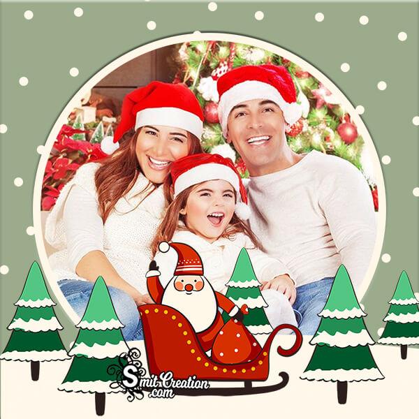 Christmas Santaclaus Photo Frame