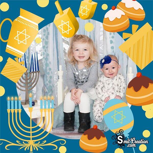 Hanukkah Photo Frame