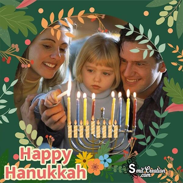 Happy Hanukkah Wonderful Photo Frame