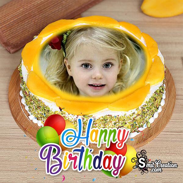 Pineapple Cake Birthday Photo Frame