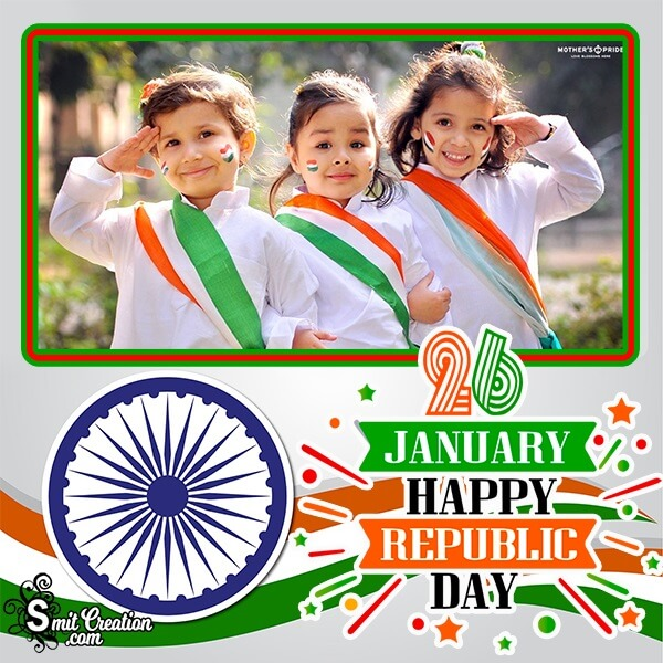 Classic Photo Frame For Republic Day