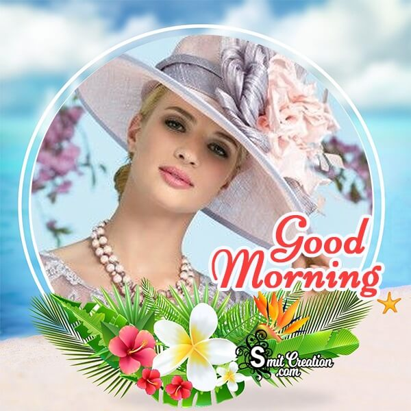 Fresh Good Morning Photo Frame
