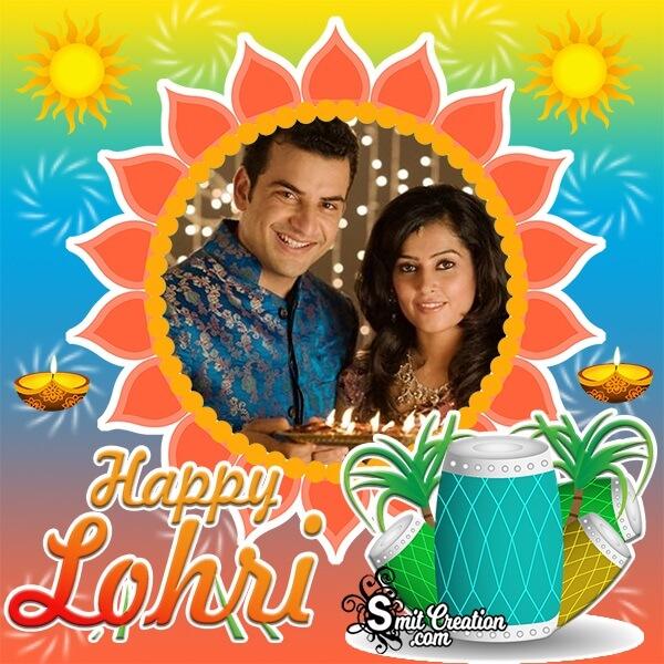 Happy Lohri Photo Frame