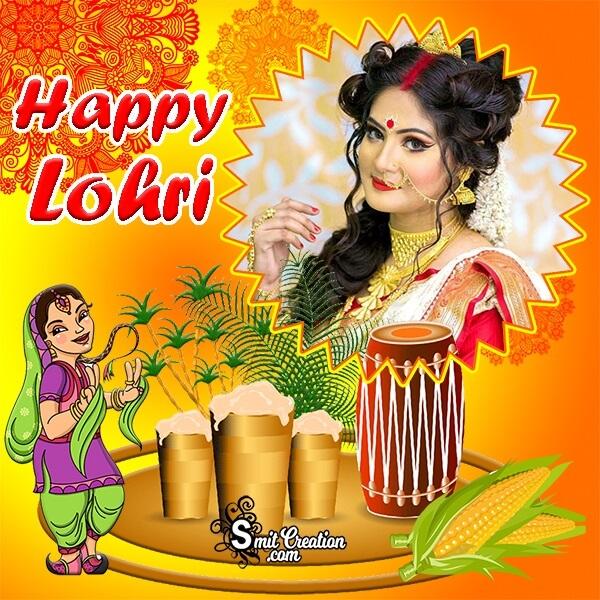 Lohri Festival Photo Frame
