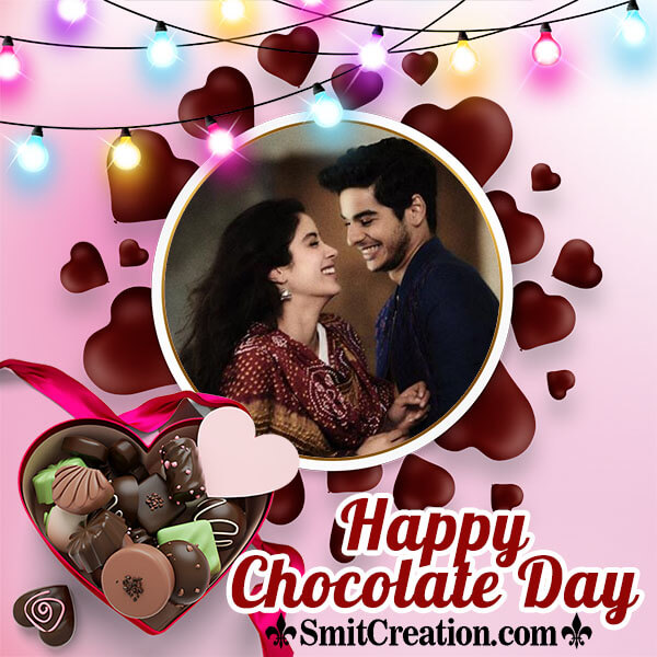 Chocolate Day Lovely Photo Frame