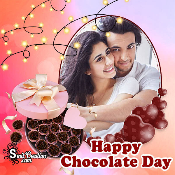 Chocolate Day Sweet Photo Frame