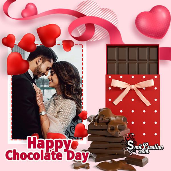 Happy Chocolate Day Beautiful Photo Frame