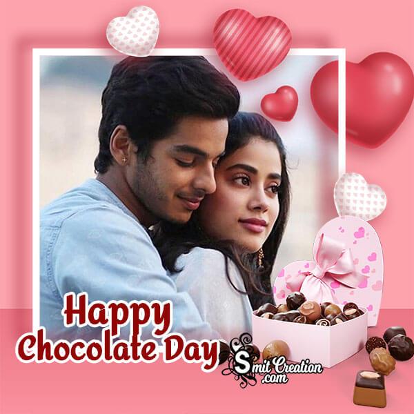 Happy Chocolate Day Cute Photo Frame