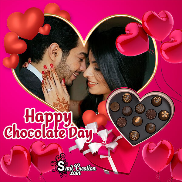 Happy Chocolate Day Lovely Photo Frame