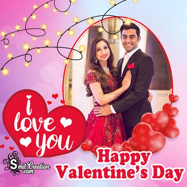 Valentines Lovely Day Photo Frame