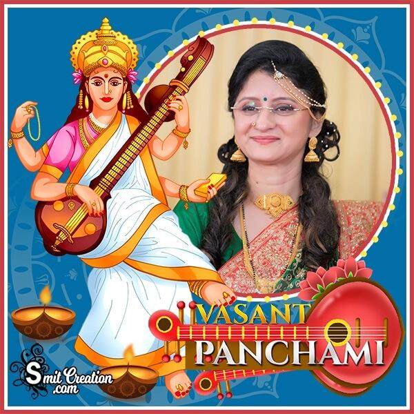 Vasant Panchami Best Photo Frame