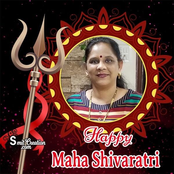 Best Happy Maha Shivratri Photo Frame