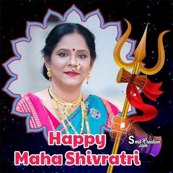 Happy Maha Shivratri Festival Photo Frame