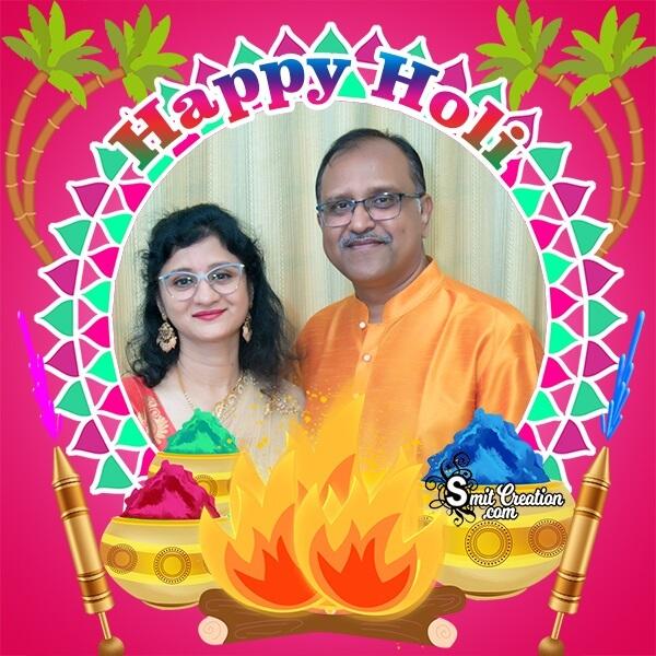 Holi Celebration Photo Frame