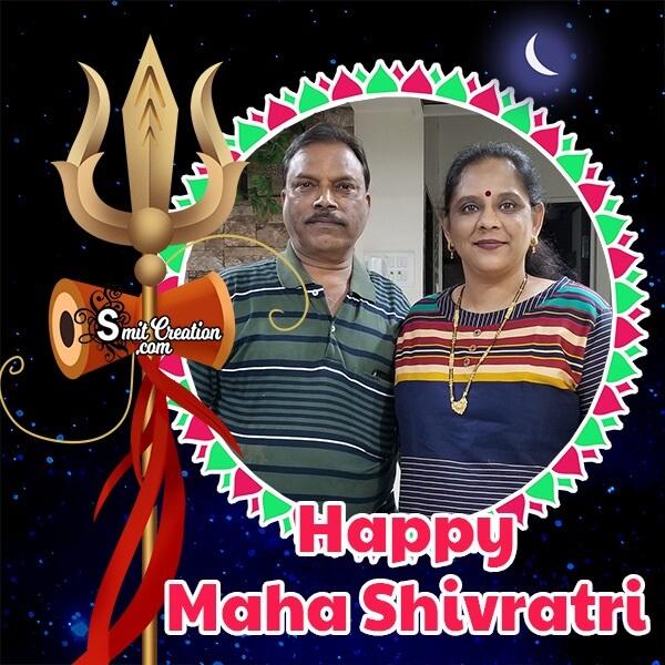 Maha Shivratri Festival Photo Frame