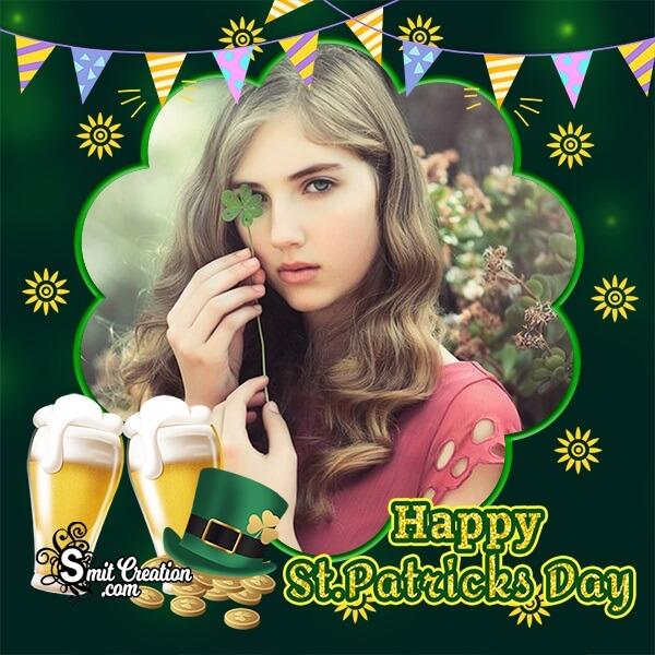 St Patricks Day Celebration Photo Frame