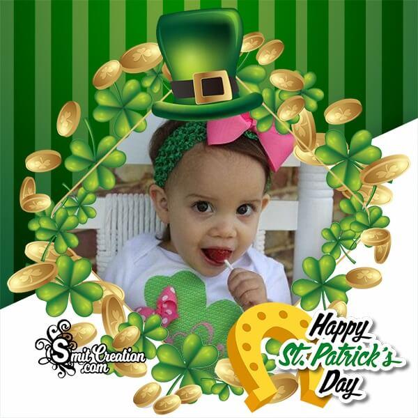 St Patrick's Day Irish Luck Photo Frame