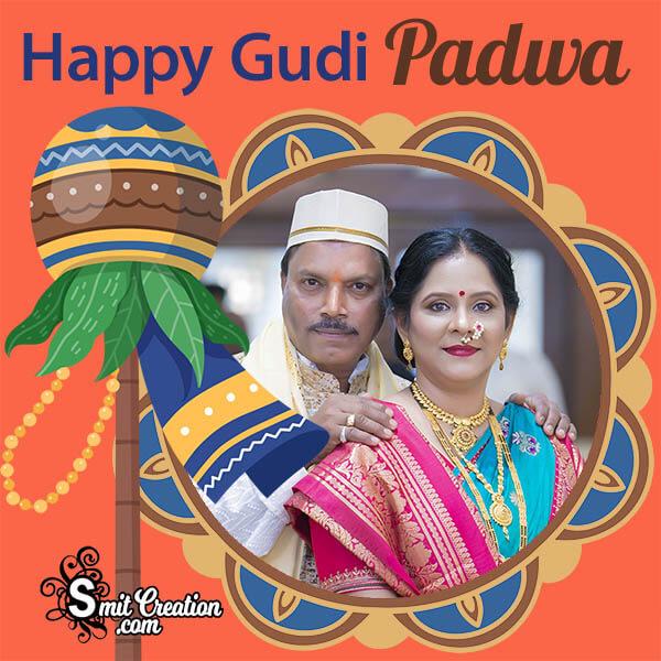 Happy Gudi Padwa Creative Photo Frame