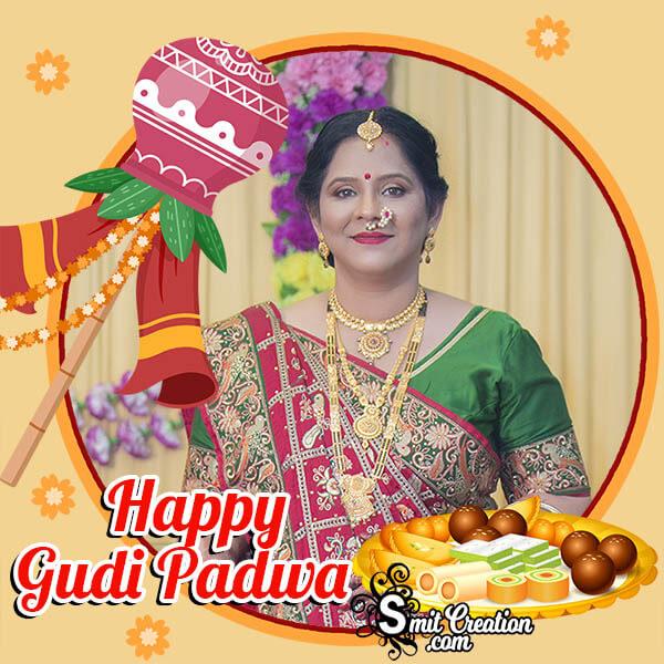 Happy Gudi Padwa Festival Photo Frame